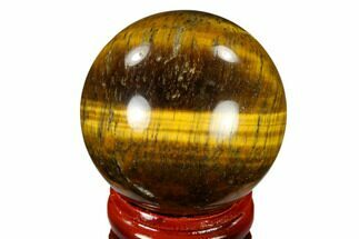 "Buy 1.55"" Polished Tiger's Eye Sphere - South Africa - #116065"