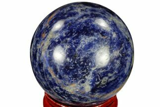 "Buy 1.6"" Polished Sodalite Sphere - Africa - #116152"