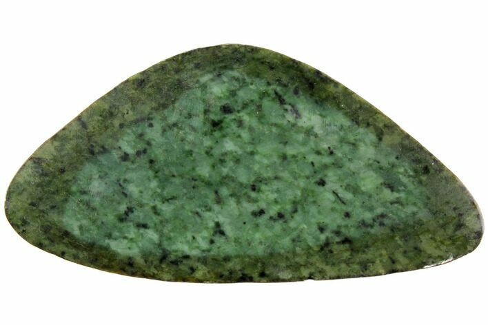 "7.4"" Polished Canadian Jade (Nephrite) Slab - British Colombia"