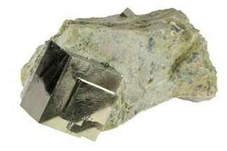 "Buy 1.08"" Pyrite Cube In Rock - Navajun, Spain - #118240"