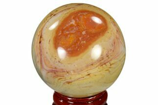 "1.9"" Polished Polychrome Jasper Sphere - Madagascar For Sale, #118115"