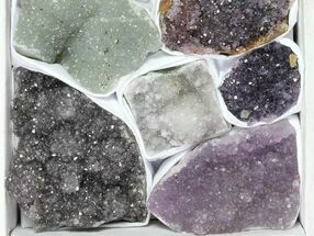 Quartz var. Amethyst - Fossils For Sale - #119322