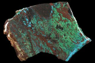 Chrysocolla & Malachite - Fossils For Sale - #119751