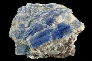 "Buy 3.7"" Vibrant Blue Kyanite Crystals In Quartz - Brazil - #118870"
