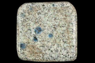"1.6"" Polished K2 Granite (Granite With Azurite) - Pakistan For Sale, #120401"
