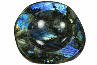 "Buy 6"" Polished, Flashy Labradorite Bowl - Madagascar - #120136"