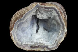 "Buy 2.85"" Crystal Filled Dugway Geode (Polished Half) - #121660"