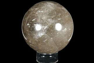 "4.65"" Polished, Smoky Quartz Sphere - Madagascar For Sale, #121955"
