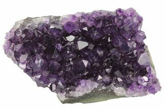 "3.4"" Dark Purple, Amethyst Crystal Cluster - Uruguay For Sale, #122105"