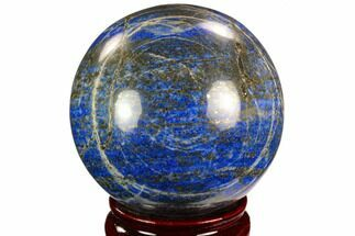 "3.05"" Polished Lapis Lazuli Sphere - Pakistan For Sale, #123449"