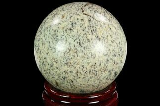 "2.45"" Polished K2 Granite (Granite With Azurite) Sphere - Pakistan For Sale, #123509"