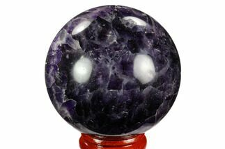 "Buy 2.2"" Polished Chevron Amethyst Sphere - #124474"