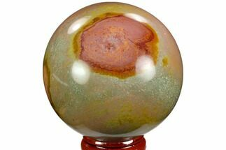"Buy 2.4"" Polished Polychrome Jasper Sphere - Madagascar - #124135"