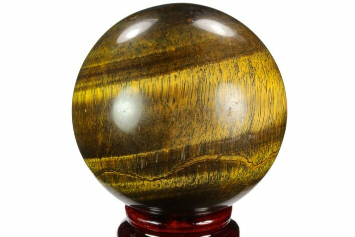 "2.75"" Polished Tiger's Eye Sphere - Africa"