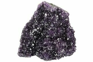 "4.9"" Free-Standing, Amethyst Crystal Cluster - Uruguay For Sale, #123821"