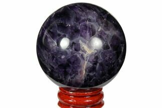 "Buy 2.15"" Polished Amethyst Sphere - #124483"