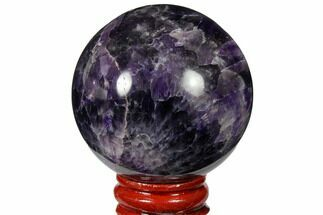 "Buy 2.15"" Polished Amethyst Sphere - #124525"