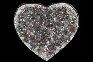 "Buy 2.7"" Purple, Amethyst Heart - Uruguay - #123760"