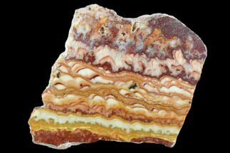 "2"" Polished Slab Of Rolling Hills Dolomite - Mexico For Sale, #126662"