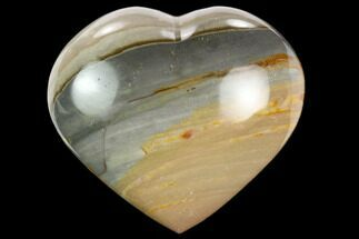 "Buy 2.45"" Wide, Polychrome Jasper Heart - Madagascar - #126724"