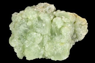"1.75"" Green Prehnite Crystal Cluster - Morocco For Sale, #127382"
