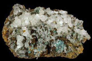 Aurichalcite & Calcite - Fossils For Sale - #127188