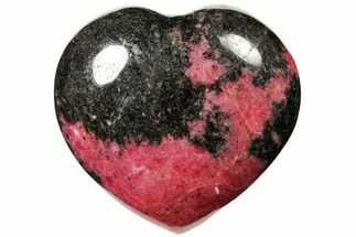 Rhodonite with Manganese Oxide - Fossils For Sale - #126756