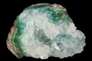 "Buy 1.6"" Quartz Encrusted Chrysocolla  - Zacatecas, Mexico - #127027"