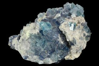 "Buy 2.5"" Colorful Fluorite Crystal Cluster - China - #128788"