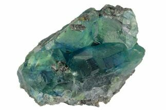 Fluorite & Quartz - Fossils For Sale - #128808