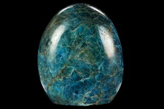 "Buy 4.2"" Free-Standing, Polished Blue Apatite - Madagascar - #127888"