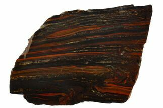 Tiger Iron Stromatolite - Fossils For Sale - #129282
