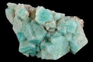 Microcline var. Amazonite & Quartz var. Smoky - Fossils For Sale - #129666
