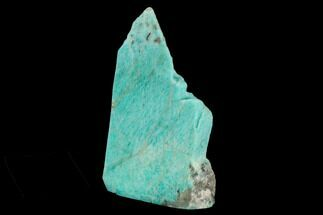 "Buy 5.4"" Tall, Single Side Polished Amazonite - Madagascar - #129910"