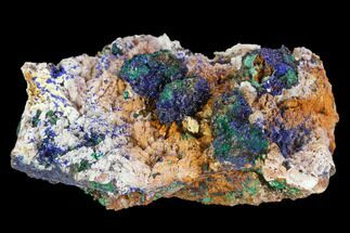 Azurite & Malachite  - Fossils For Sale - #128172