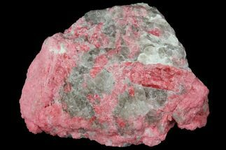 "2.5"" Red-Pink Thulite Formation - Mjønes, Norway For Sale, #131258"