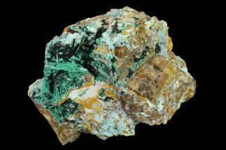 "2.8"" Quartz, Atacamite & Chrysocolla Association - Peru For Sale, #132326"