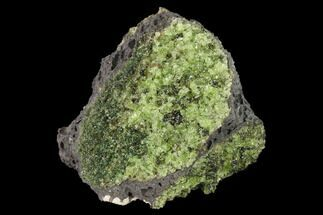 "3.5"" Peridot in Basalt - Arizona For Sale, #132284"