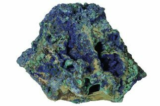 Malachite & Azurite - Fossils For Sale - #132786