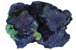 Malachite & Azurite - Fossils For Sale - #132789