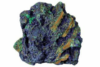 "Buy 2.4"" Malachite and Azurite Association - China - #132760"