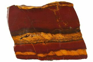 "4.7"" Polished ""Desert Sunset"" Banded Iron - Western Australia For Sale, #132938"