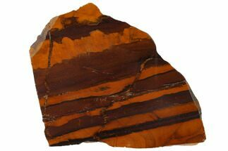 "6.8"" Polished ""Desert Sunset"" Banded Iron - Western Australia For Sale, #132941"
