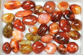 Carnelian Agate - Fossils For Sale - #133923