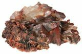 "3.8"" Natural Red Quartz Crystal Cluster - Morocco - #134082-1"