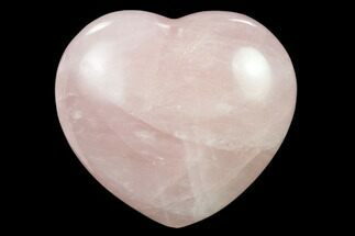 "Buy 2.7"" Polished Rose Quartz Heart - Madagascar - #134803"