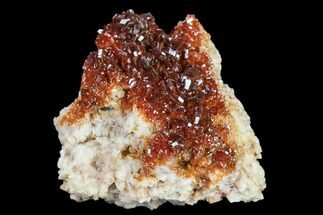 Vanadinite & Barite - Fossils For Sale - #134688