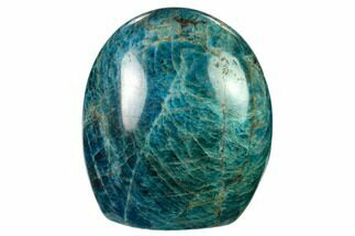 "Buy 4.2"" Free-Standing, Polished Blue Apatite - Madagascar - #135334"