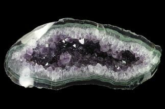 "Buy 10.7"" Wide, Purple Amethyst Geode - Uruguay - #135352"