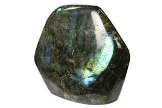 "5.1"" Flashy Polished Labradorite Free Form - Madagascar For Sale, #136265"
